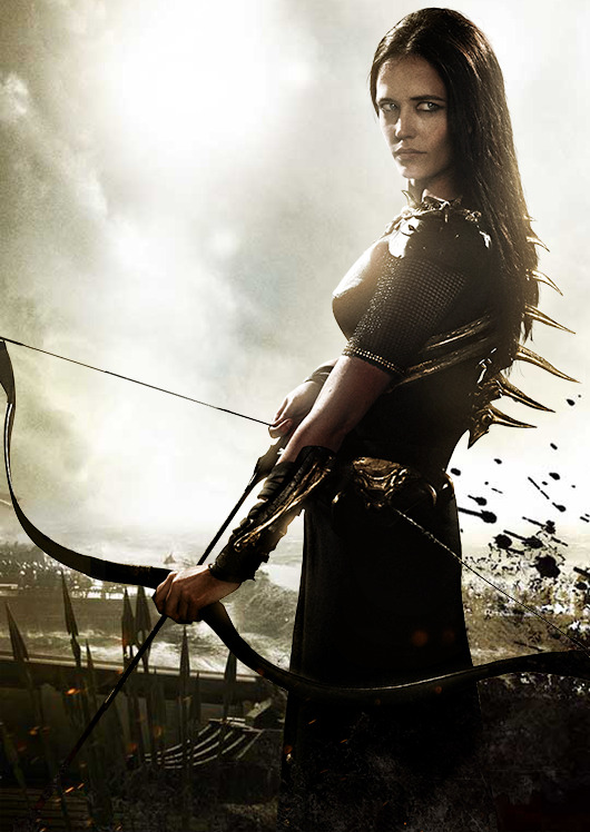 Eva Green starring in 300: Rise of an Empire