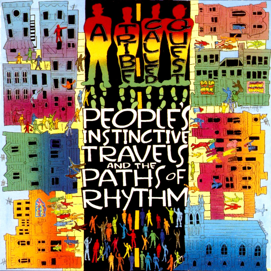 BACK IN THE DAY |4/17/90| A Tribe Called Quest releases their debut album,People's Instinctive Travels and the Paths of Rhythm, through Jive/RCA Records