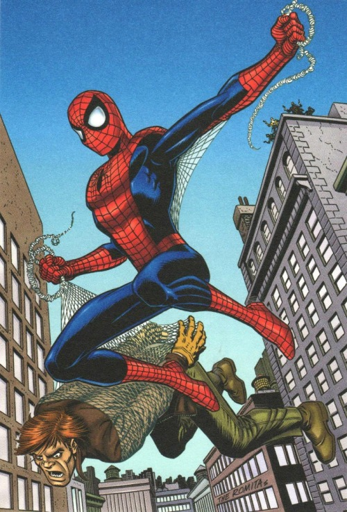 comicbookartwork:  Spider-Man  by 'The Romitas'.