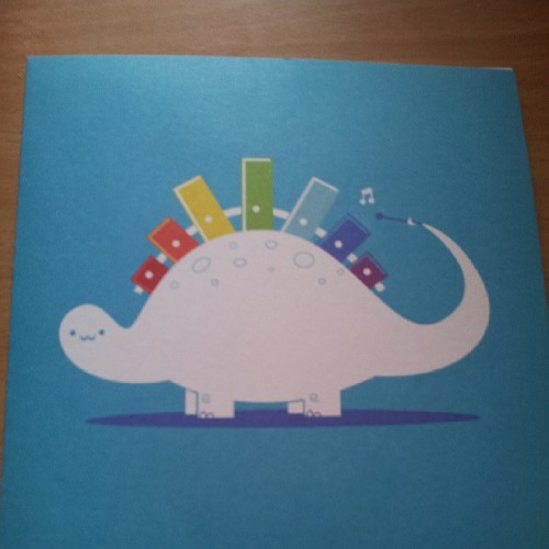 @rychuu  always gets the best #birthday cards! :D