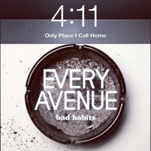 Haven't posted one of these in a while. #badhabits #love #music #songoftheday #imissmyboyfriend @scubaastevee93 #onemoremonth