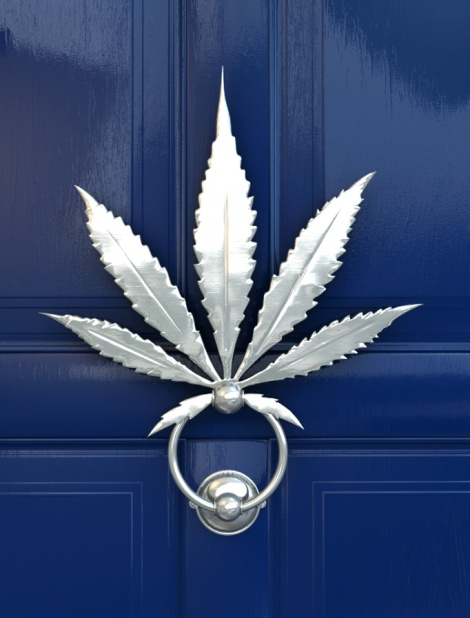 my front door one day