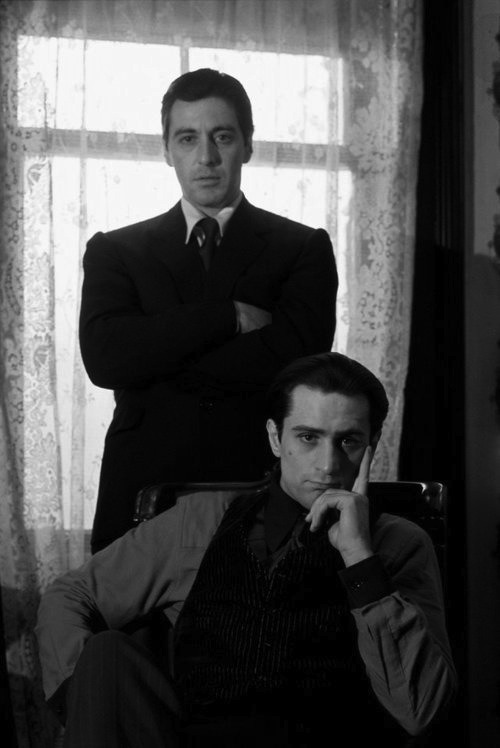 b-a-d-habits:  Don Vito and Michael Corleone