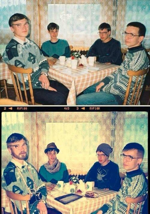 funfrom4chan:  Nerds vs. Hipsters