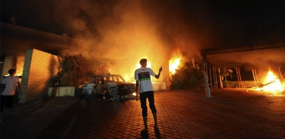 The Real Benghazi Scandal  America is far less served by the endless recitation of calls made and talking points issued than it would be by a hard look at the members of Congress that failed to provide resources, and the bureaucratic hurdles that kept the resources that were available from being deployed. The breathless search for a cover-up has only served to bury those real — and potentially deadly — problems. Read more. [Image: Reuters]