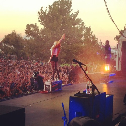 paramore:  Show tonight was amazing…Thank You Melbourne!! #III