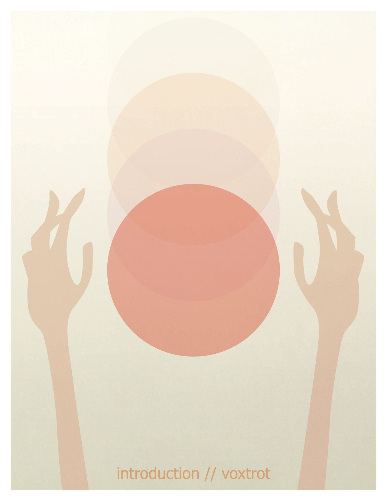 100songposters:  Day 10: Introduction by Voxtrot