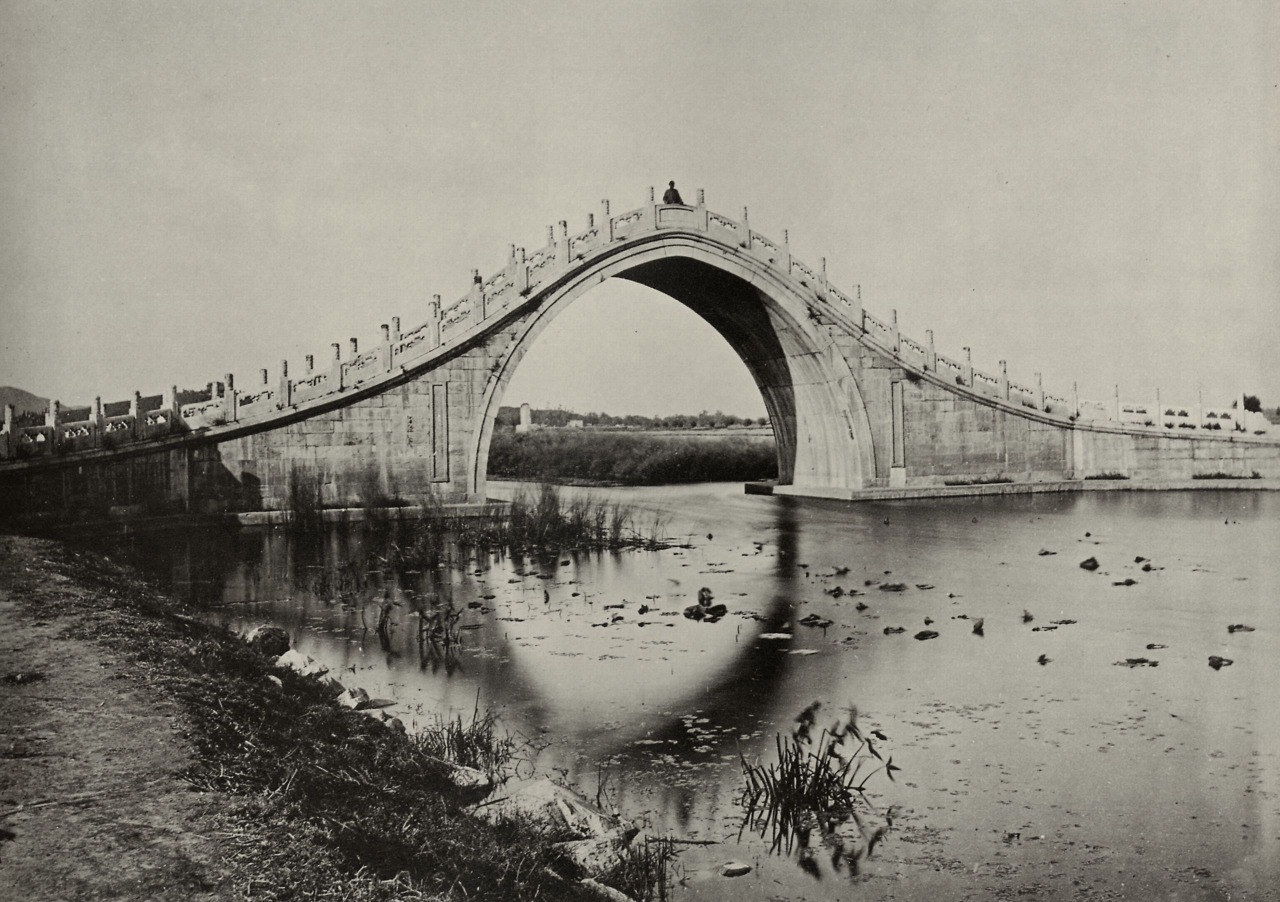 John Thomson, Bridge of New Summer Palace, 1890 photograph Download Image Visit Source @ anthonylukephotography.blogspot.ca