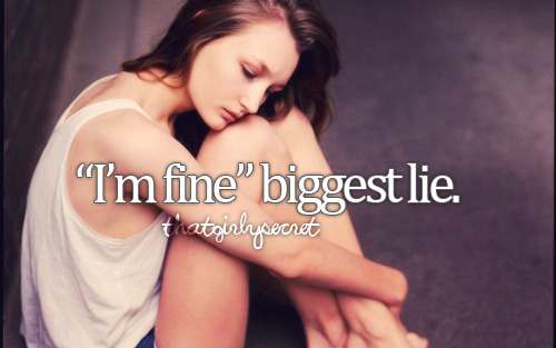 iloveyoubutfuckyouprince:  - I'm Fine. on We Heart It. http://weheartit.com/entry/60885523/via/li_ga