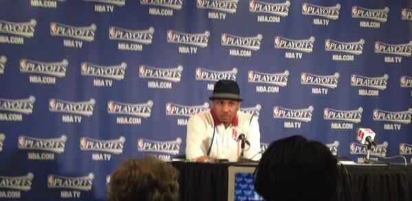 "Carmelo Anthony - .@carmeloanthony: ""We played with a sense of urgency tonight, knowing what was at"