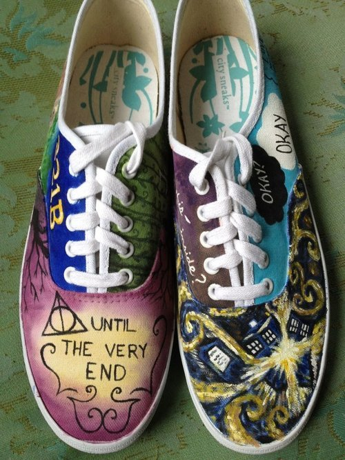 nerdyvikinggirl:  The Best Shoes Ever | via Facebook op @weheartit.com - http://whrt.it/18PKQ1Y