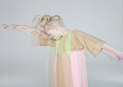 wgsn:   Great colour from East london based kidswear brand, Nixie Clothing. Inspired by David Bowie and his eccentric alter ego, Ziggy Stardust.
