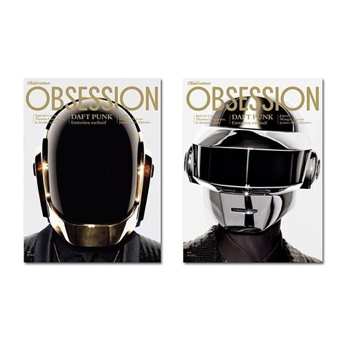tumblr.com Daft Punk Cover the May 2013 Issue of Obsession Magazine Daft Punk Cover the May 2013 Issue of Obsession Magazine