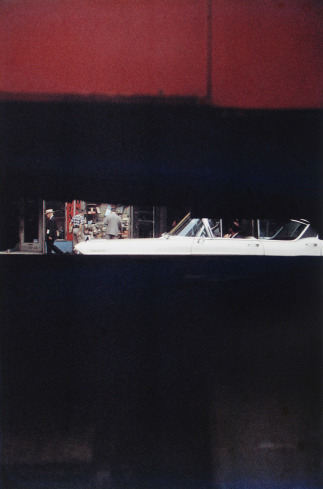 Through Boards, 1957 | Saul Leiter