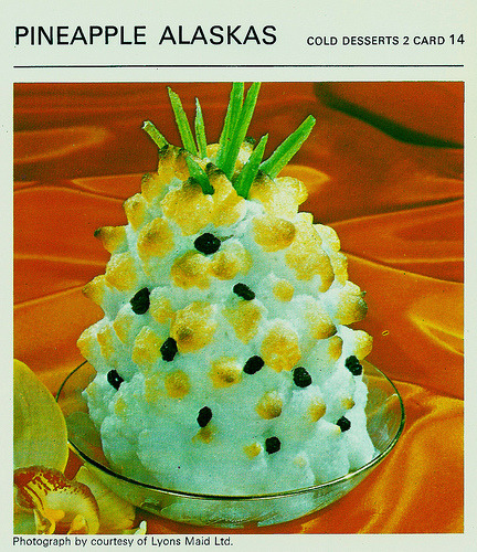 What's For Tea Mother ? Pineapple Alaskas