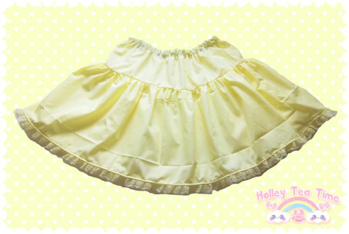 ☆ New ☆ Frilly Pixie Skirt - Yellow $25