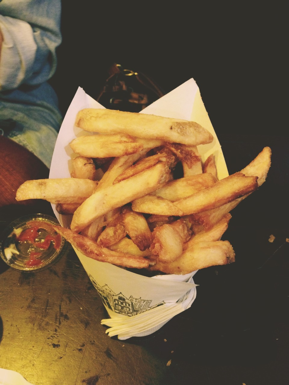 Pommes Frites adventure with the siblings.