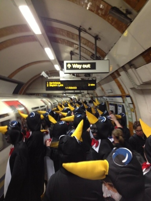 newbyoes:  London Underground today