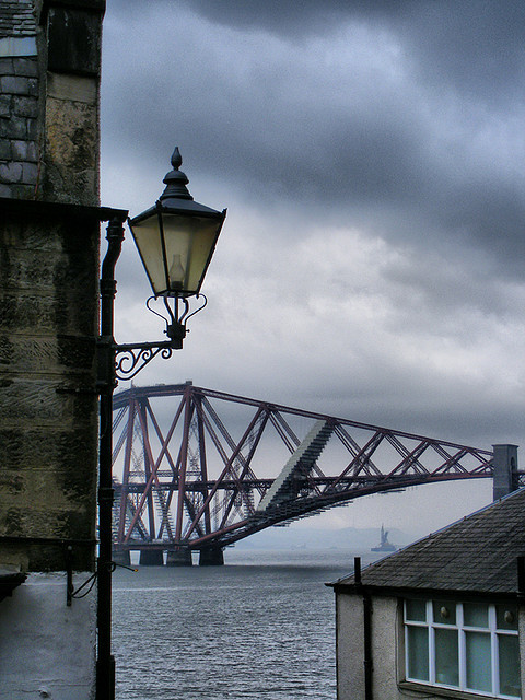 ellenjuly:  South Queensferry - Storm brewing by pariscub on Flickr.  87.