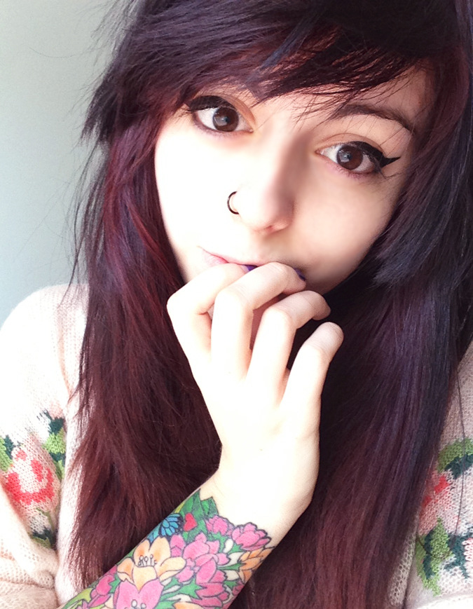flowerfoxes:  new hair dont care