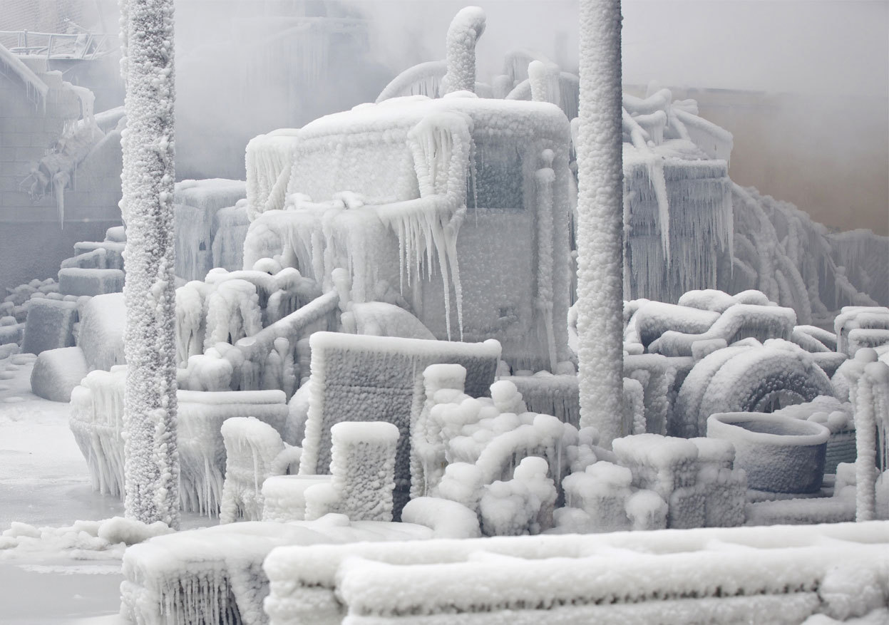 olio-ataxia:  John Gress Chicago's Freezing Fire