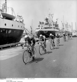 retrobikesarebetterthanfixies:  Marseille, Tour de France 1971After an intense duel with Luis Ocana, Eddy Merckx wins his 3rd Tour!  ©Presse Sports