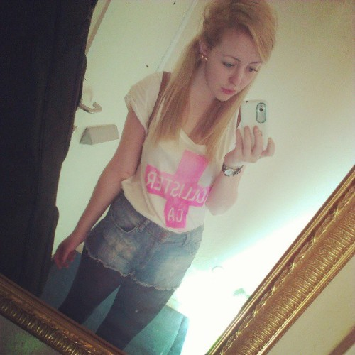 #blonde #pout #college #Hollister #summer #sunny #hot