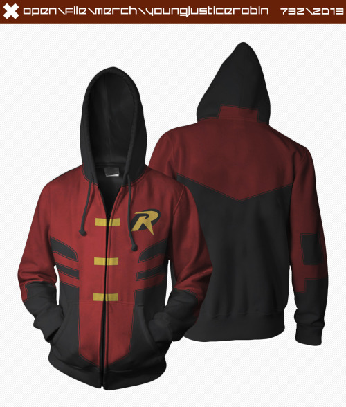 themainbusb:  YJ Robin Hoodie  Okay technically Tim Drake but had to reblog because that's one impressive hoodie!