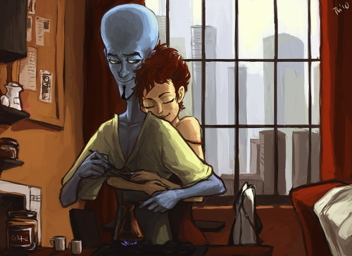 just-more-megamind:  Artist: Tench (Source)  I love Tench <3