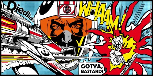 Starwars Inspired by Roy Lichtenstein