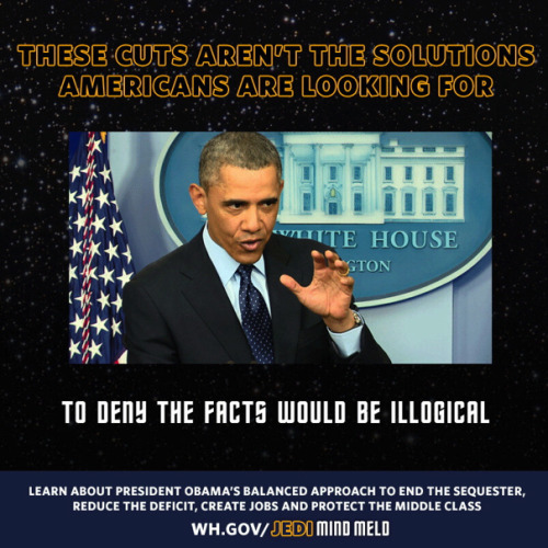 politico:   White House capitalizes on 'Jedi mind-meld' moment  The Obama team's love of memes continues.