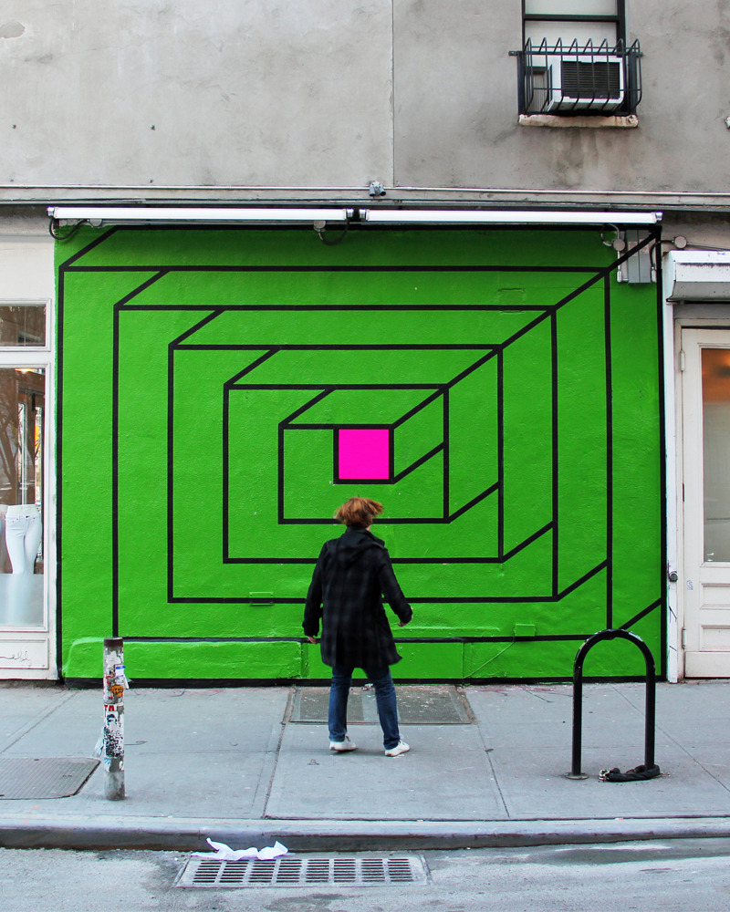 "aakashnihalani:  ""Portal"" by Aakash Nihalani  simple is good."