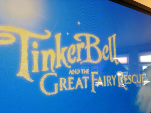 Getting my Tink fix.