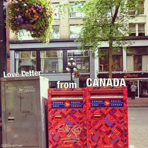 Ever posted a Love Letter from CANADA to someone back home?We'd love to hear which part of the country stole your heart. Send us a postcard with #ExploreCanada photo via @stoneriver_80 http://instagram.com/p/V82KwYGVI4/