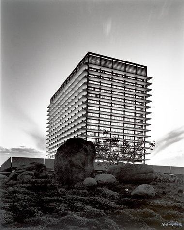 LA Department of Water & Power | AC Martin & Associates by Julius Shulman