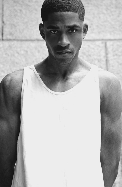 chasemodelsny:  Vaughn Holmes (Chase Models NY) Shot by Vince Chase   Check out my homie Vaughn up incoming model with Chase Models NY follow him on twitter @dominicanbill