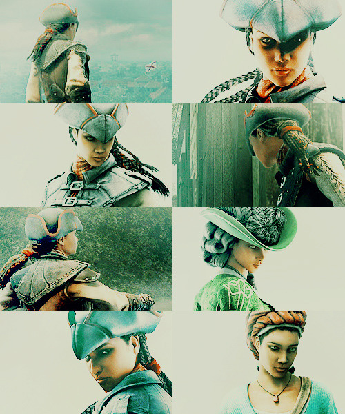 Assassin's Creed - Aveline + green