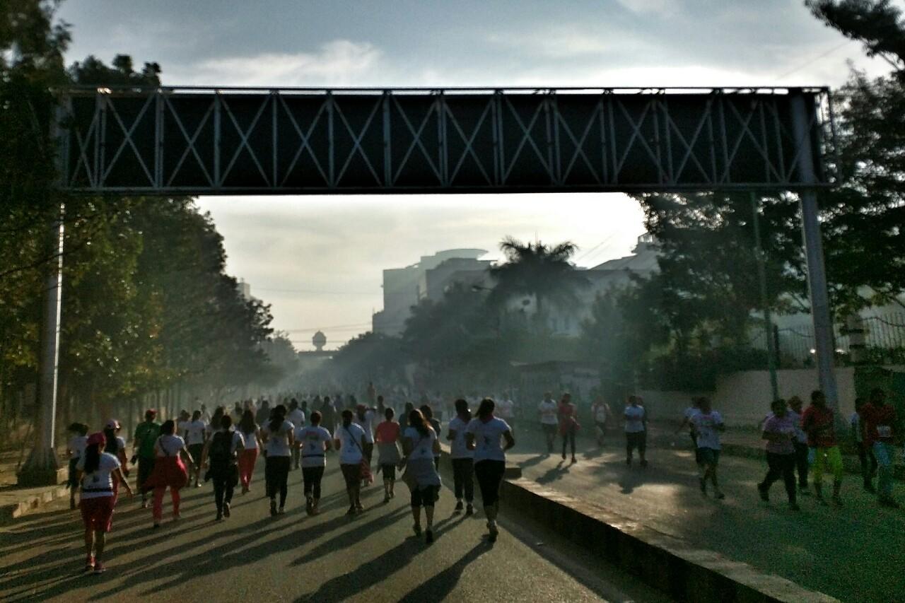 11,000 women ran Pinkathon
