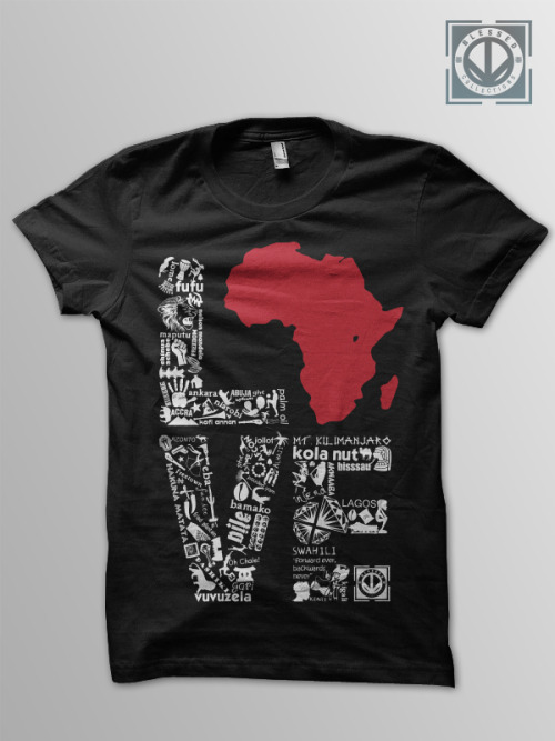 LuvAfrique Tee by http://www.blessedcollections.com/