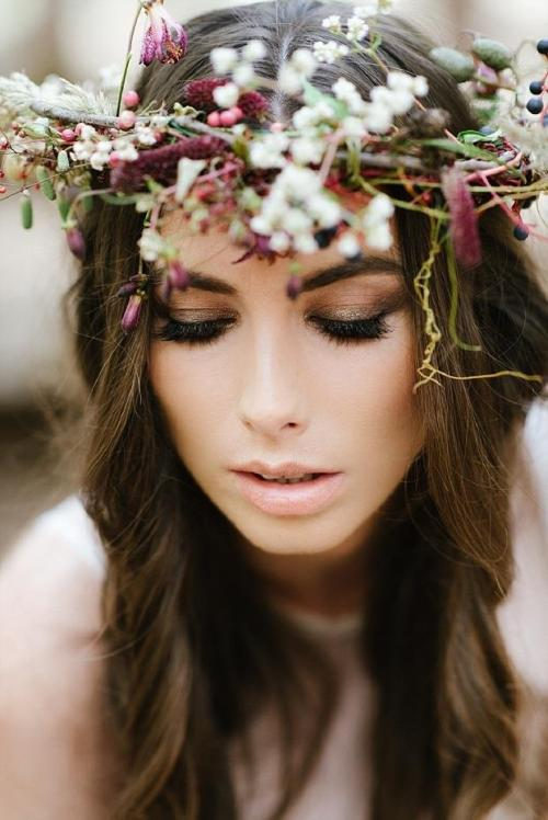 Love this floral crown!