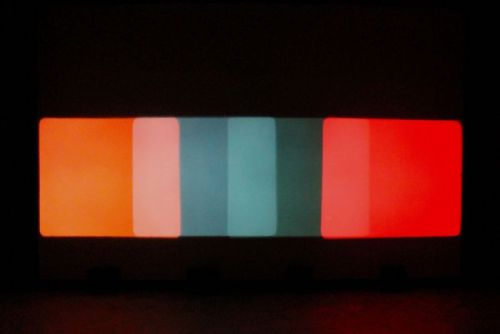 Paul SharitsShutter Interface (produced in 1975) shown at Greene Naftali Gallery NYC 2009(found via: notational)