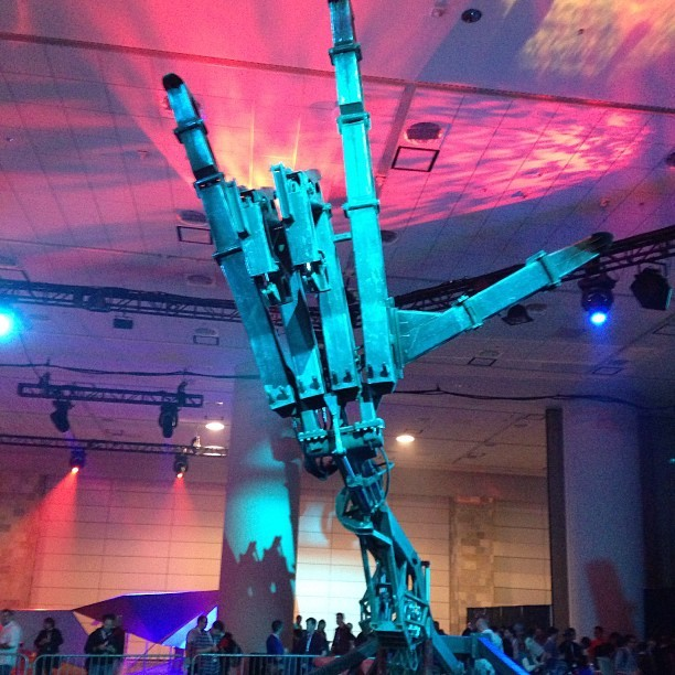"""Rock on,"" says large clunky Google robot. And I will."