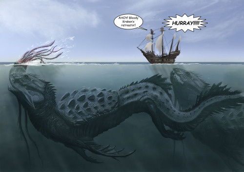 duskphoenix:   myresin:  starkblackmagic:  theforecastisblue:  Sea Monsters [LDN-RDNT]  THIS IS WHY I HAVE TRUST ISSUES  This is terrifying  Those are some pretty awesome beasts