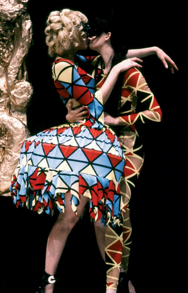 "tuileries:  Harlequin and Columbine Vivienne Westwood F/W 1989/1990 - ""Voyage to Cythera"""