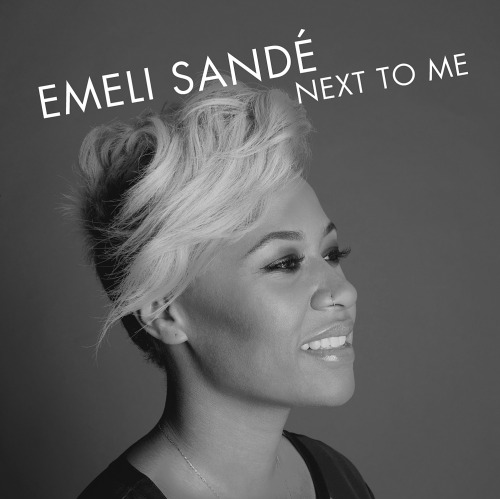 "Henry Bourne photographs singer Emeli Sand for the promotional single cover of ""Next To Me"""