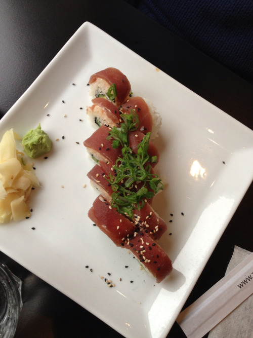 catenaccifood:  Spicy Tuna Roll. Sushilunch på Zen Sushi & Tea, Lund - II. Mycket gott.
