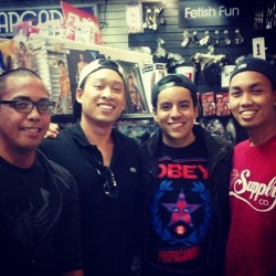 SD hillcrest with @pnoiknight, @simplebilly, babe @thtkidluiz, and mee!! Lol took a pic in romantic xD