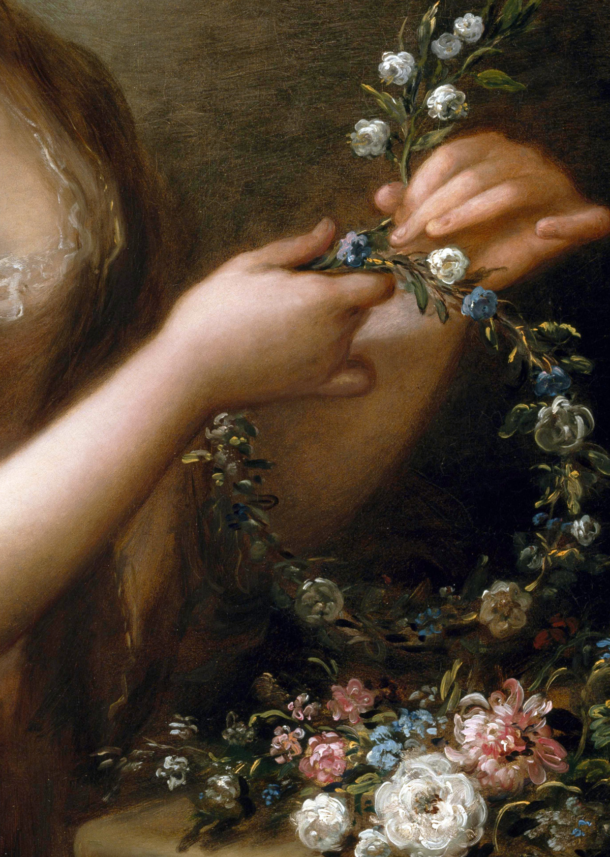 c0ssette:  Eleanor,Countess of Lauderdale (Detail) ca.1780-1781