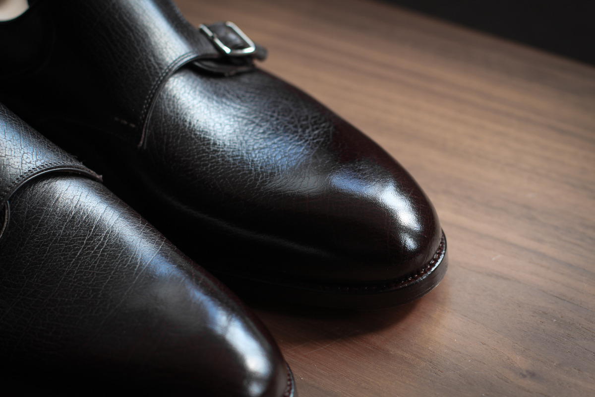 veryenglish:  St. Crispin Dark Brown Double Monks   Shoe porn.