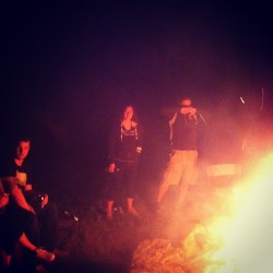 #bonfire #camping #fun #drinking